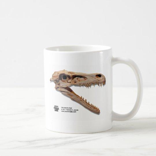 Velociraptor Skull Coffee Mug