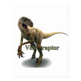 Velociraptor Tarjetas Postales