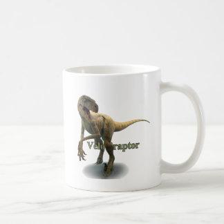Velociraptor Taza Básica Blanca