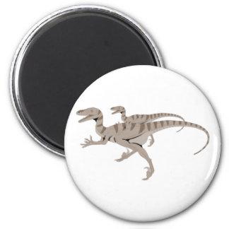 velociraptoren 2 inch round magnet