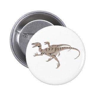 velociraptoren pinback button