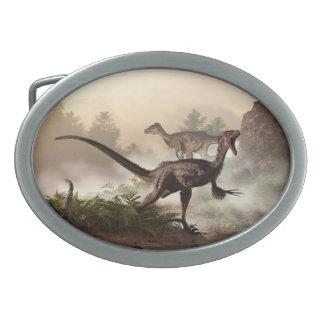 Velociraptors Hebillas Cinturon Ovales