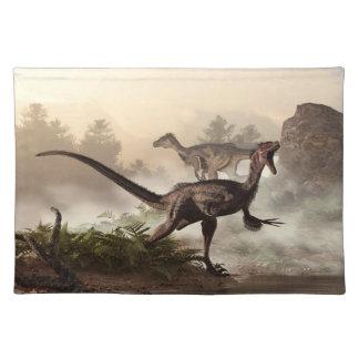 Velociraptors Mantel Individual