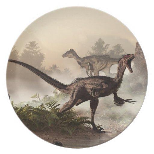 Velociraptors Plate