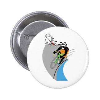 Velodrome 2 Inch Round Button