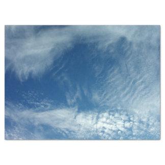 Velos en el cielo papel de seda grande