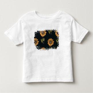 Velours au Sabre silk decoration of Sunflowers Toddler T-shirt