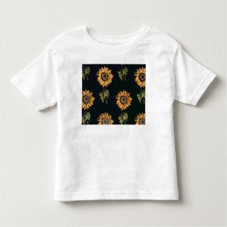 Velours au Sabre silk decoration of Sunflowers T Shirt