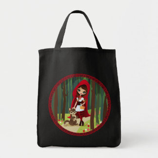 Velusa Red Riding Hood Tote Bags