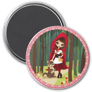 Velusa Red Riding Hood Magnet