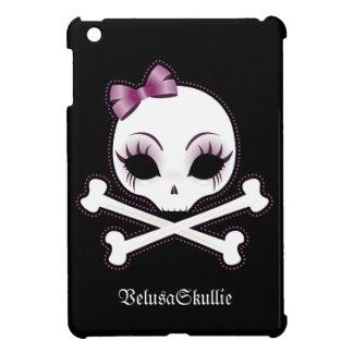 Velusa Skullie - mini cubierta del caso del iPad d