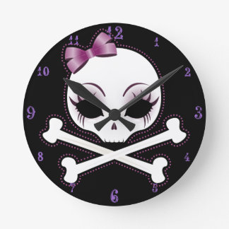 VelusaSkullie Wall Clocks