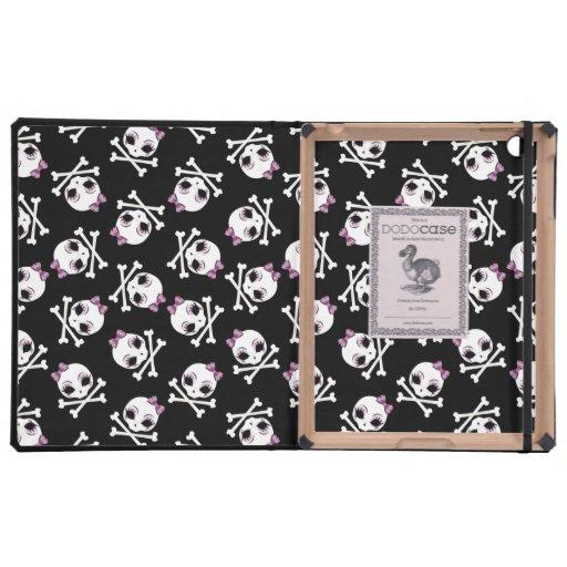 VelusaSkullie Pattern iPad Cases