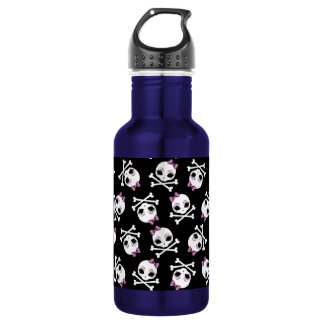 VelusaSkullie Stainless Steel Water Bottle