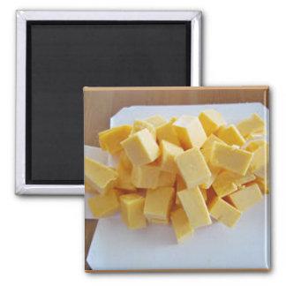Velveeta Chopped Cheese 2 Inch Square Magnet