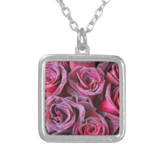 Velvet Beauty Silver Plated Necklace
