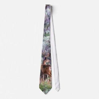 Velvet Buck Tie