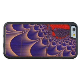 Velvet C Fractal Carved Cherry iPhone 6 Bumper Case