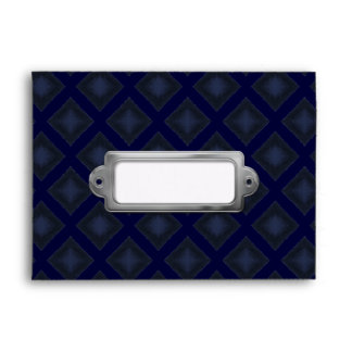 Velvet Diamonds (Blue) Envelope