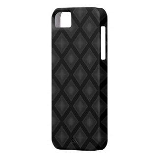 Velvet Diamonds (Charcoal) iPhone SE/5/5s Case