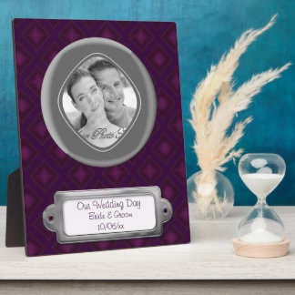 Velvet Diamonds (Purple) Plaque