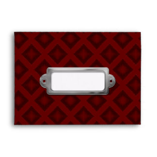 Velvet Diamonds (Red) Envelope