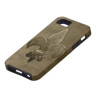 Velvet Fleur De Lis iPhone 5 Case