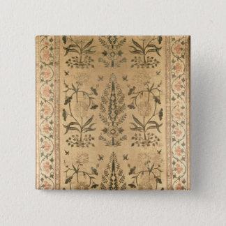 Velvet floor spread, Moghul, Shah Jahan period, 16 Button