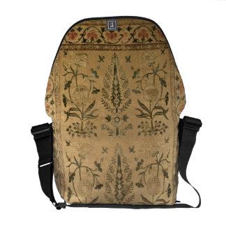 Velvet floor spread, Moghul, Shah Jahan period, 16 Messenger Bag
