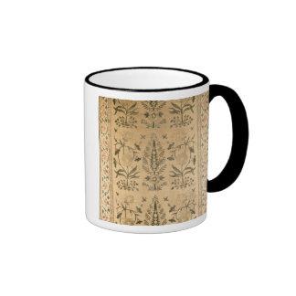Velvet floor spread, Moghul, Shah Jahan period, 16 Coffee Mugs