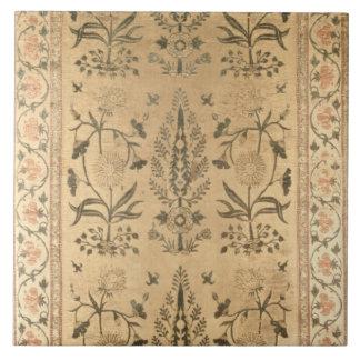 Velvet floor spread, Moghul, Shah Jahan period, 16 Tile