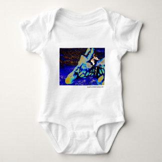 Velvet Giraffe Baby Bodysuit