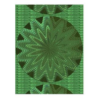 VELVET Green Sparkle Star Gifts - LOWPRICE STORE Postcard