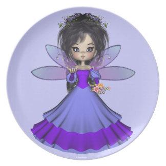 Velvet Jae Faerie Princess Plate