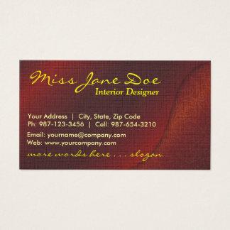 velvet paisley business card