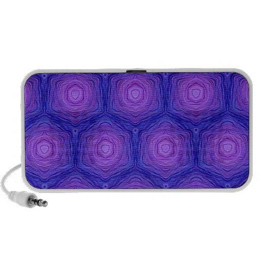 Velvet Pattern,blue Mini Speakers