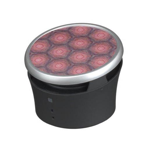 velvet pattern,peach speaker