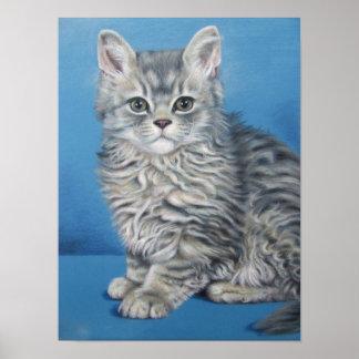 Velvet paw - Velvet Cat Poster
