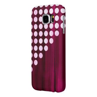 Velvet Polka dot Pattern Samsung Galaxy S6 Case