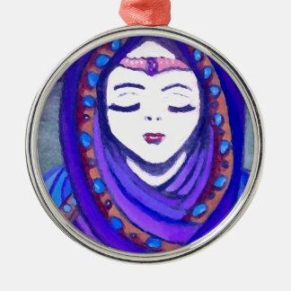 Velvet Queen Shae Fantasy Art Style Christmas Tree Ornaments