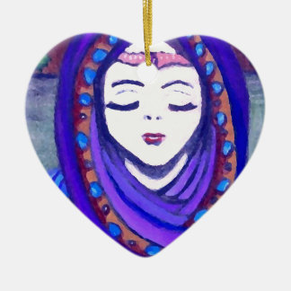 Velvet Queen Shae Fantasy Art Style Ornaments