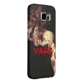 Velvet Red Vape Clouds Grunge Samsung Galaxy S6 Case