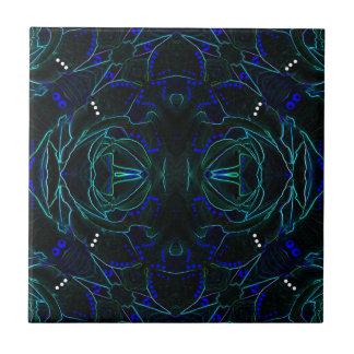 Velvet Roses No. 1 Abstract Ceramic Tile