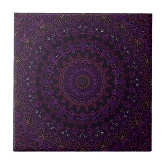 Velvet Roses Purple No. 6 Tile