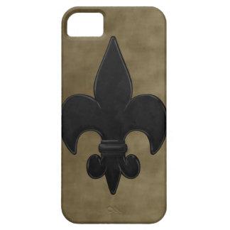 Velvet Saints Fleur De Lis iPhone SE/5/5s Case