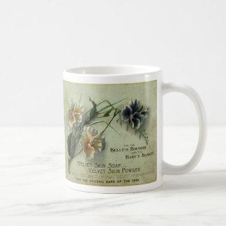 velvet skin soap coffee mug