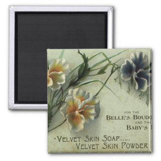 velvet skin soap magnets