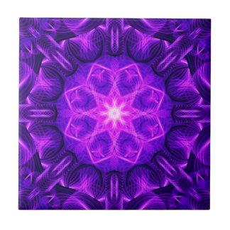 Velvet Star Mandala Tile