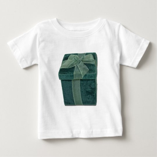 VelvetBoxWithBow112611 Baby T-Shirt