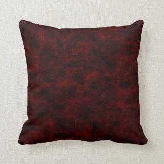 Velvety Red Mojo Pillow